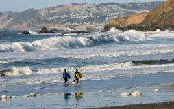` 4 di Surfin Fotografia Stock