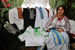 _2 di Tatiana Drohomyretska del ricamo Immagine Stock Libera da Diritti