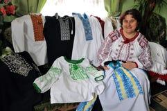 _3 di Tatiana Drohomyretska del ricamo Fotografie Stock Libere da Diritti