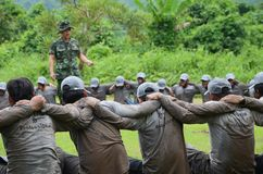 _02 di Team Training Immagini Stock Libere da Diritti