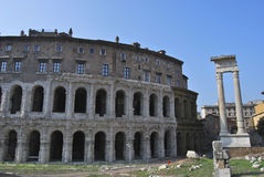 di teatro Marcello Rome zdjęcie royalty free