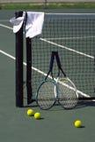 Di tennis vita ancora Fotografie Stock