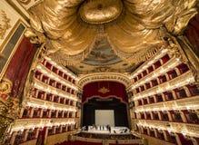 Di théatre de l'opéra de San Carlo, Naples de Teatro Image stock