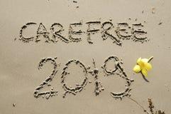 2018/2019 di transizione - vigilia dei nuovi anni fotografia stock libera da diritti
