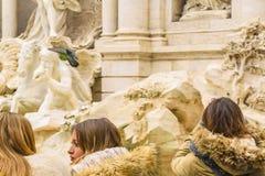 di trevi Fontana Włoch Rzymu obraz stock