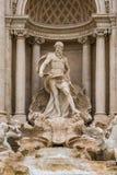 Di Trevi Fountain imagen de archivo libre de regalías