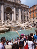 Di Trevi fountain, Rome, Italy Stock Photo