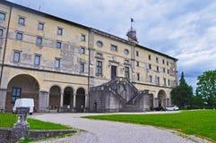 Di Udine - il castello di Castello nella città italiana di Udine Immagine Stock