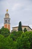 Di Udine - torre di Castello del castello Immagine Stock Libera da Diritti