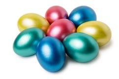 di uova di Pasqua Colorate Multi Fotografia Stock