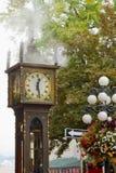 Di Vancouver orologio storico del vapore BC Gastown Fotografie Stock Libere da Diritti