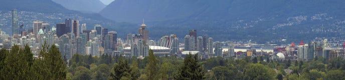 Di Vancouver panorama di giorno della città BC Immagini Stock