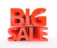 ` di vendita del ` del testo 3D grande Immagine Stock