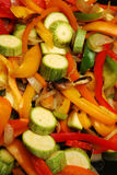 Di verdure mescolare-frigga fotografia stock libera da diritti