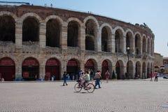 Di Verona da arena Foto de Stock Royalty Free