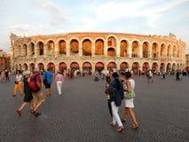 Di Verona da arena, Itália Fotos de Stock Royalty Free