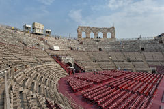 Di Verona de la arena Imagen de archivo libre de regalías