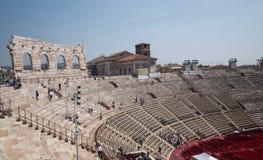 Di Verona dell'arena fotografia stock