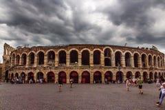 Di Verona, sujetador de la plaza, Verona, Italia de la arena foto de archivo