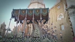 ` Di Virgen de los Dolores del `, settimana santa video d archivio