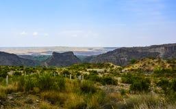 Di vista superiore di Kanhatti del giardino valle presto Fotografia Stock Libera da Diritti
