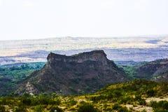 Di vista superiore di Kanhatti del giardino valle presto Fotografie Stock