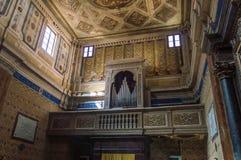 Di Viterbo del Duomo fotografia stock