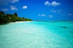 Dia agradável em Maldivas Imagens de Stock Royalty Free