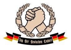 Dia alemão da unidade Imagens de Stock