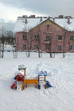 Dia ander de sneeuw Stock Foto