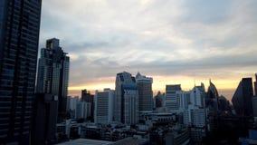 Dia ao lapso da noite do centro da cidade de Banguecoque filme