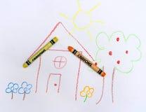 Dia bonito de uma criança Imagem de Stock
