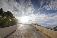 Dia bonito em uma ilha das Caraíbas Foto de Stock Royalty Free