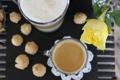 Dia bonito, hora para o café, tempo de mola, dia de mães, cores românticas, Valentim Imagem de Stock Royalty Free