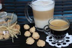 Dia bonito, hora para o café, tempo de mola, dia de mães, cores românticas, Valentim Fotos de Stock Royalty Free