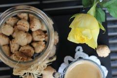 Dia bonito, hora para o café, tempo de mola, dia de mães, cores românticas, Valentim Fotografia de Stock