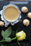 Dia bonito, hora para o café, tempo de mola, dia de mães, cores românticas, Valentim Fotografia de Stock Royalty Free