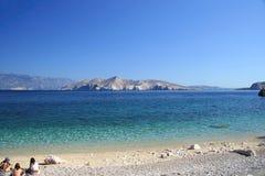 Dia bonito na costa Fotografia de Stock Royalty Free