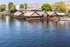 Dia bonito no rio Kwai Fotografia de Stock
