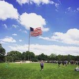 Dia bonito nos EUA Foto de Stock Royalty Free