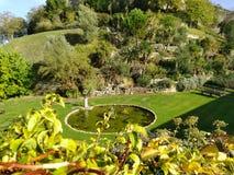 Dia bonito Reino Unido do jardim do castelo de Windsor, fotos de stock royalty free