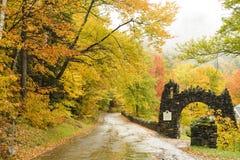 Dia chuvoso nas montanhas Foto de Stock Royalty Free