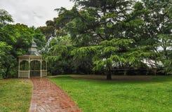 Dia chuvoso no parque Wilson austrália fotos de stock