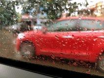 Dia chuvoso - tempo nebuloso fotografia de stock
