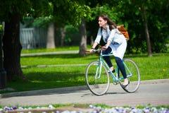 Dia da ação uniforme da bicicleta Imagem de Stock Royalty Free
