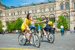 Dia da ação uniforme da bicicleta Imagens de Stock
