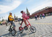 Dia da ação uniforme da bicicleta Imagem de Stock