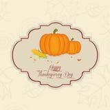 Dia da acção de graças Imagens de Stock Royalty Free
