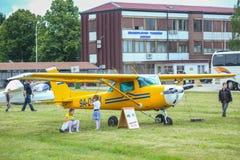 Dia da aviação AIRVG2017 em Velika Gorica Fotos de Stock