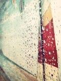 Dia da chuva fotografia de stock